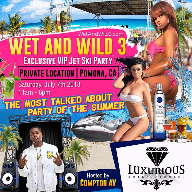 Wet And Wild 3: Exclusive VIP Jet Ski Party