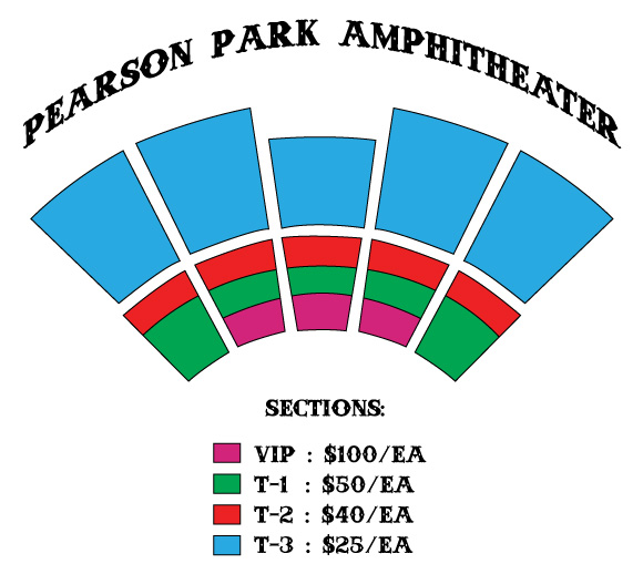 Pearson Park Amphitheater Sections