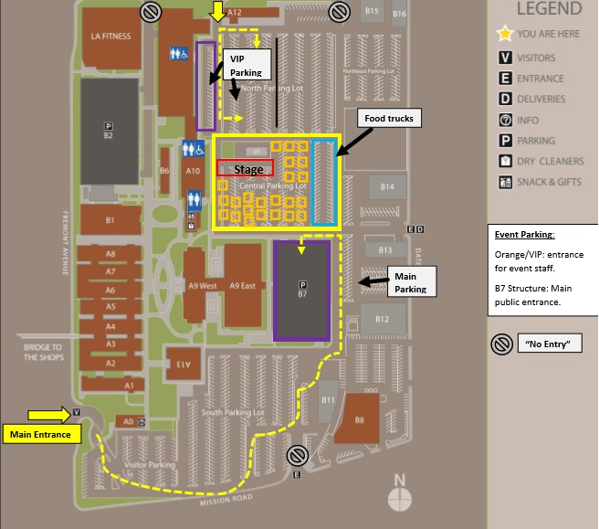Walk N Roll Site Map