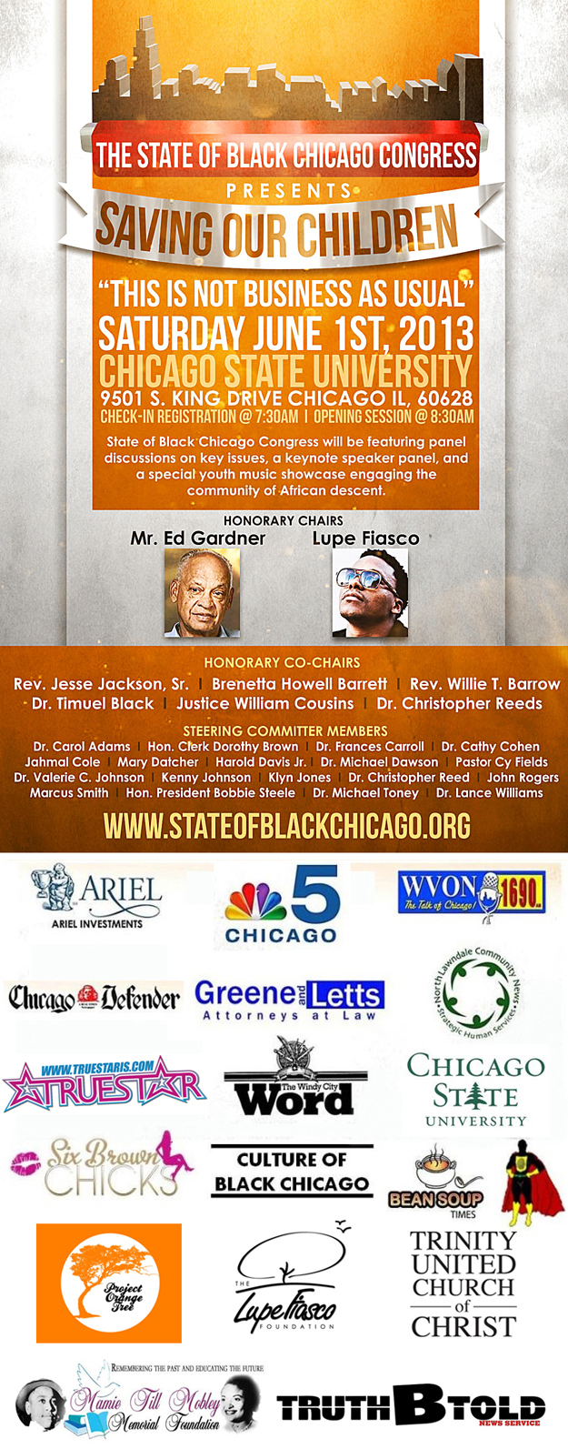 State of Black Chicago Congress Invite