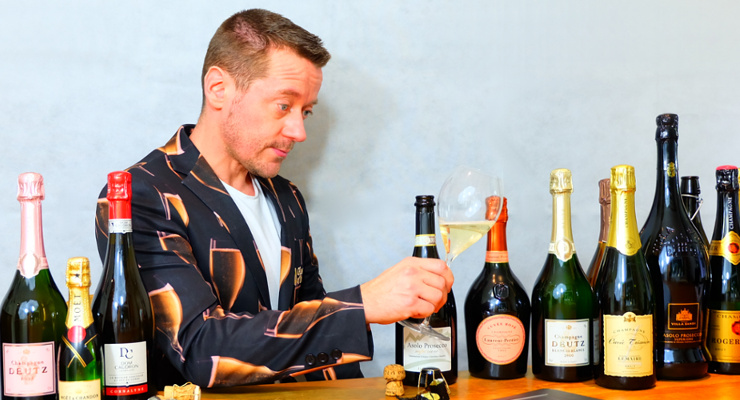 Christopher Walkey - Host of the Glass of Bubbly Masterclass