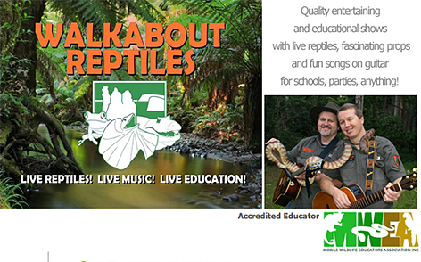 Walkabout Reptiles