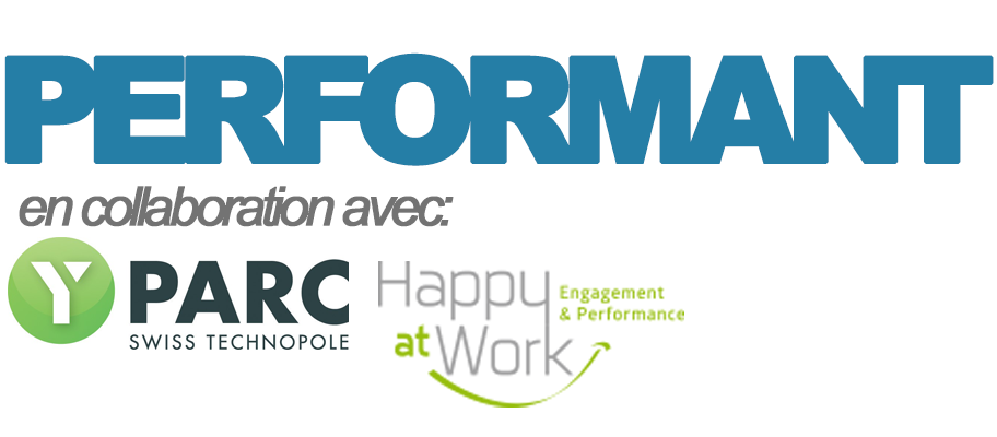 Logos Performant, Happy at Work, Dynam, Y-Parc