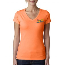 Ladies' t-shirt youth sized orange