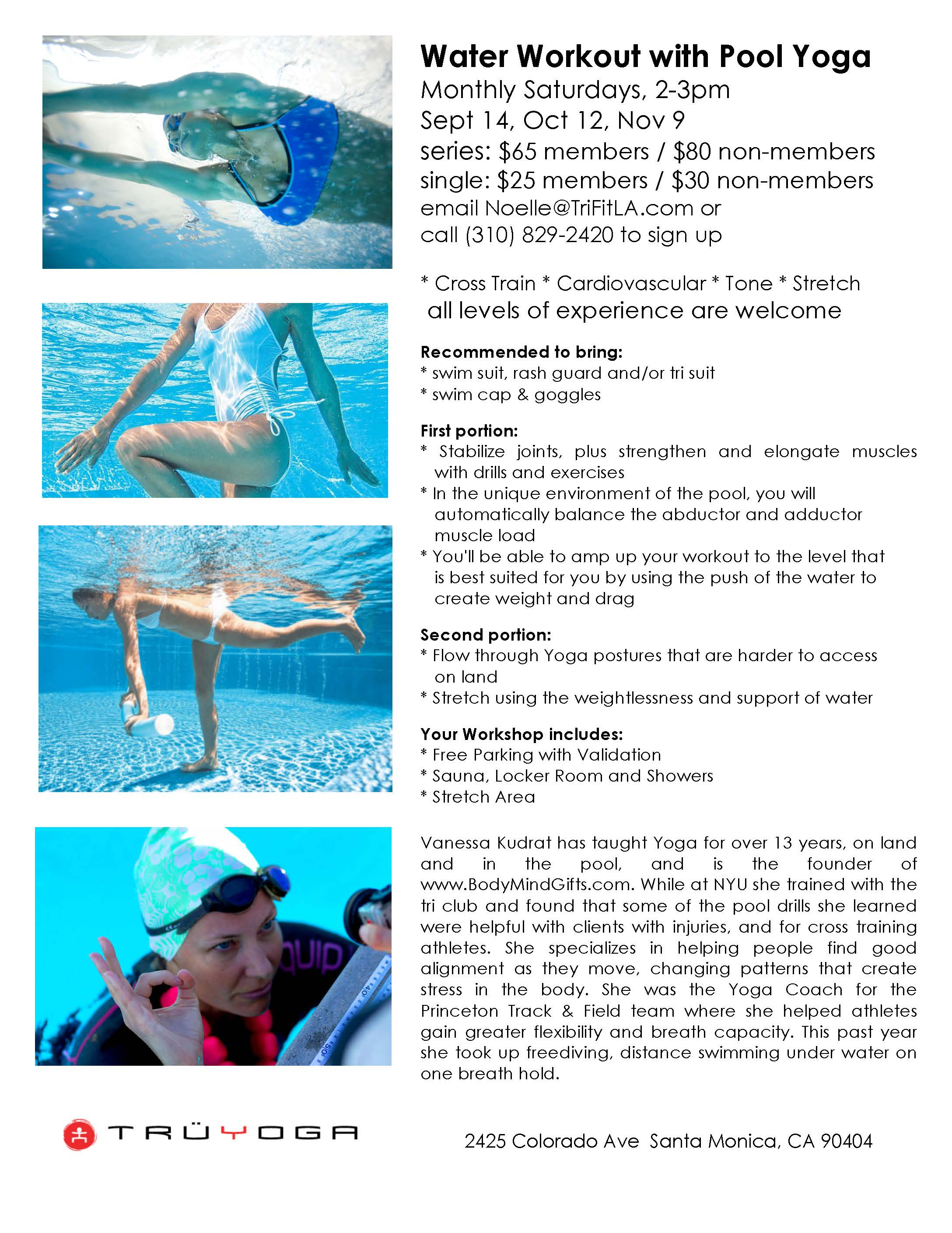 Pool Workouts For Athletes Workout Krtsy