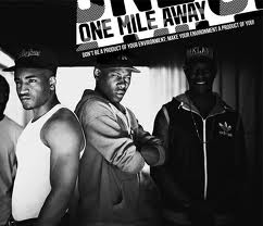 some of the cast of One Mile Away