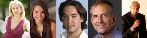 Darynn Zimmer, Soprano Yiselle Blum,  Mezzo-Soprano Joseph Michael Brent, Tenor Robert Osborne, Baritone  Joseph Jones, Conductor