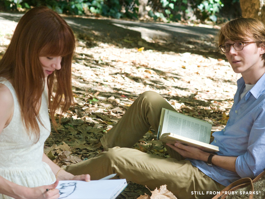 Scene from Ruby Sparks