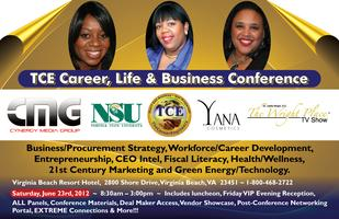 "TCE Career & Biz Conference and Awards Luncheon""Perceive --..."
