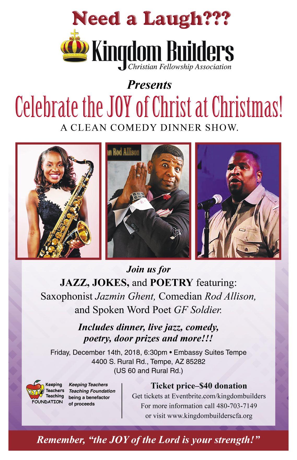 December 14th Event Flier