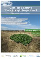 Cleantech and Energy: which Strategic Perspectives? Focus on...