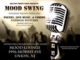 Mood Swing Tuesdays Poetry, Live Music, Comedy (Open Mic)
