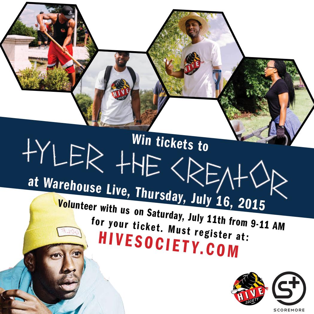 Tyler the creator community service