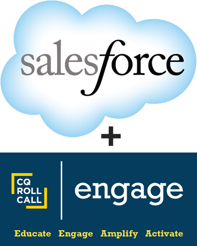 CQ Roll Call's Engage + Salesforce