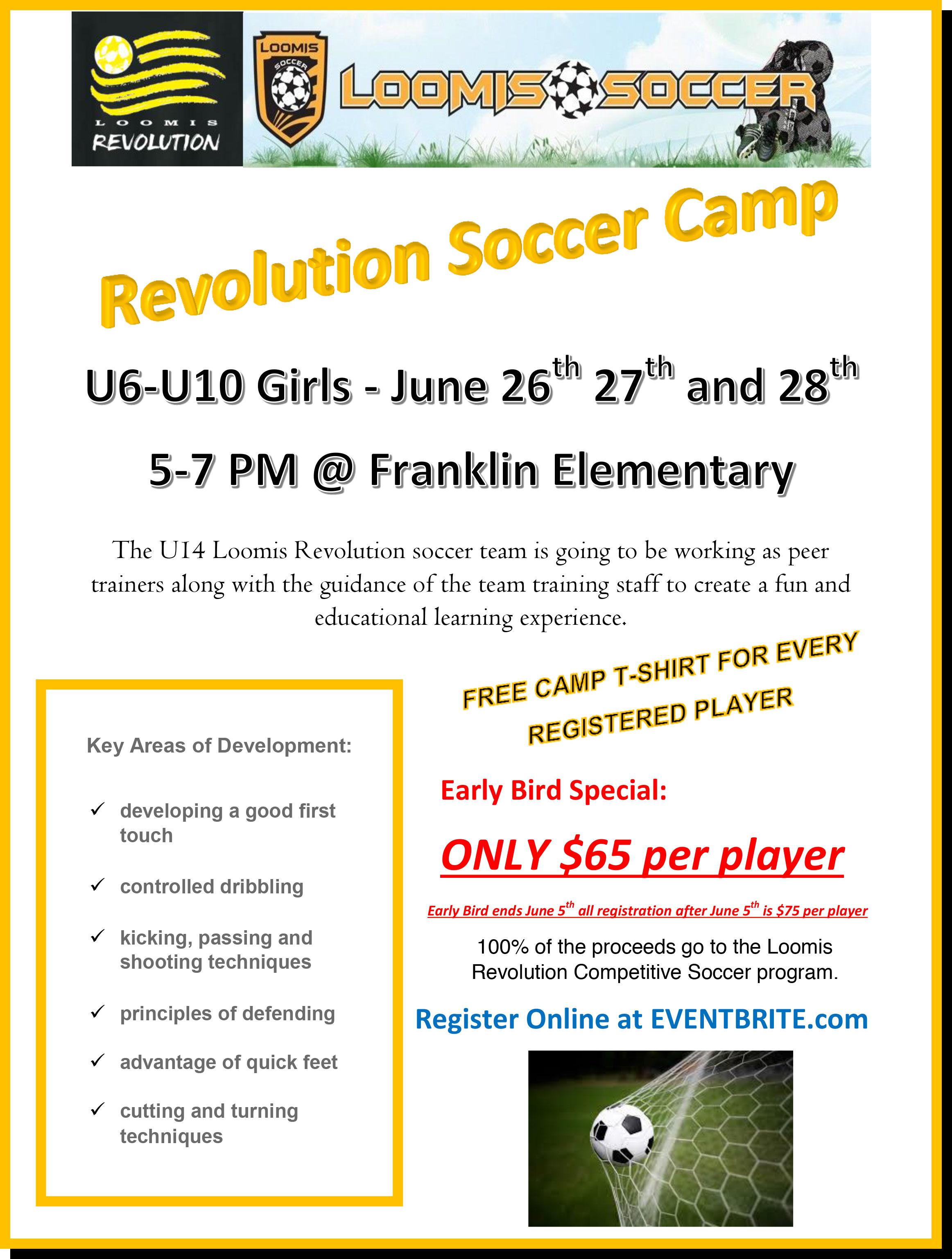 Soccer Workshop Flyer