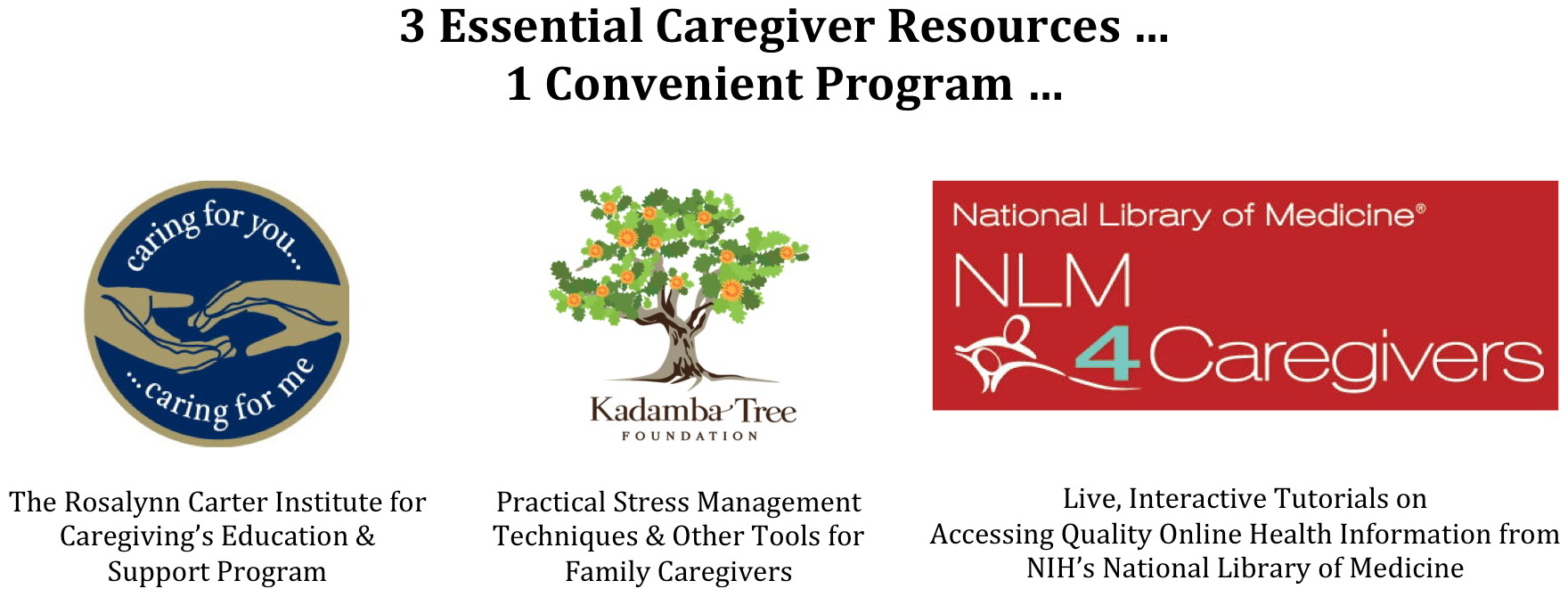 3 Essential Caregiving Resources