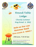 Round Table Lodge Charity BBQ & Hog Roast