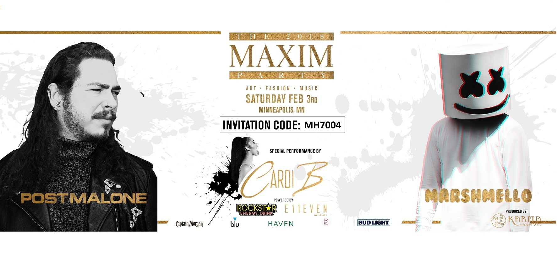 Best Super Bowl Tickets and Parties. The 2018 Maxim Party - The Best Super Bowl Party in Minneapolis for Super Bowl 52 Weekend - New England Patriots vs. Philedelphia Eagles at U.S. Bank Stadium. Purchase Official Tickets and VIP Tables by Visiting VIPExclusives.com. Use Maxim Super Bowl Party Invitation Code: MH7004 for the Guaranteed Lowest Price. Call 1-877-MAXIM-02 for Personal Service.