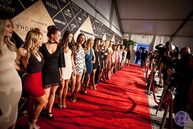 Red Carpet at the Maxim Super Bowl Party - Maxim VIP Invitation Code: VIPEXCLUSIVES