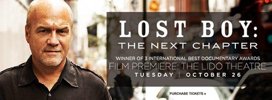 Lost Boy Premiere banner
