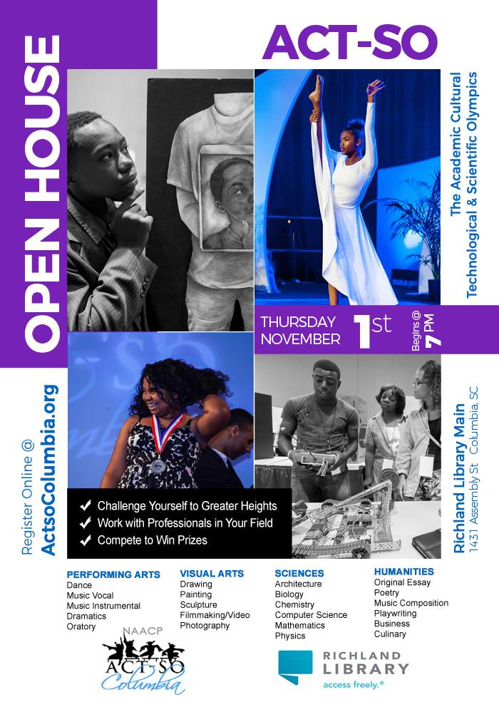ACT-SO Open House Promo