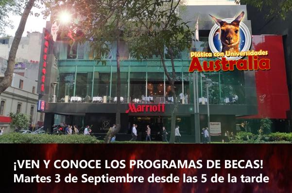 Destino Australia Evento Ciudad de Mexico