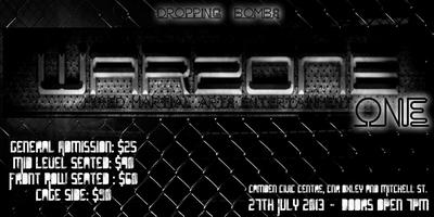 WARZONE One MMA Fight Night - Camden