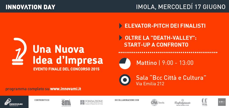 Una Nuova Idea d'Impresa Evento Finale 2015
