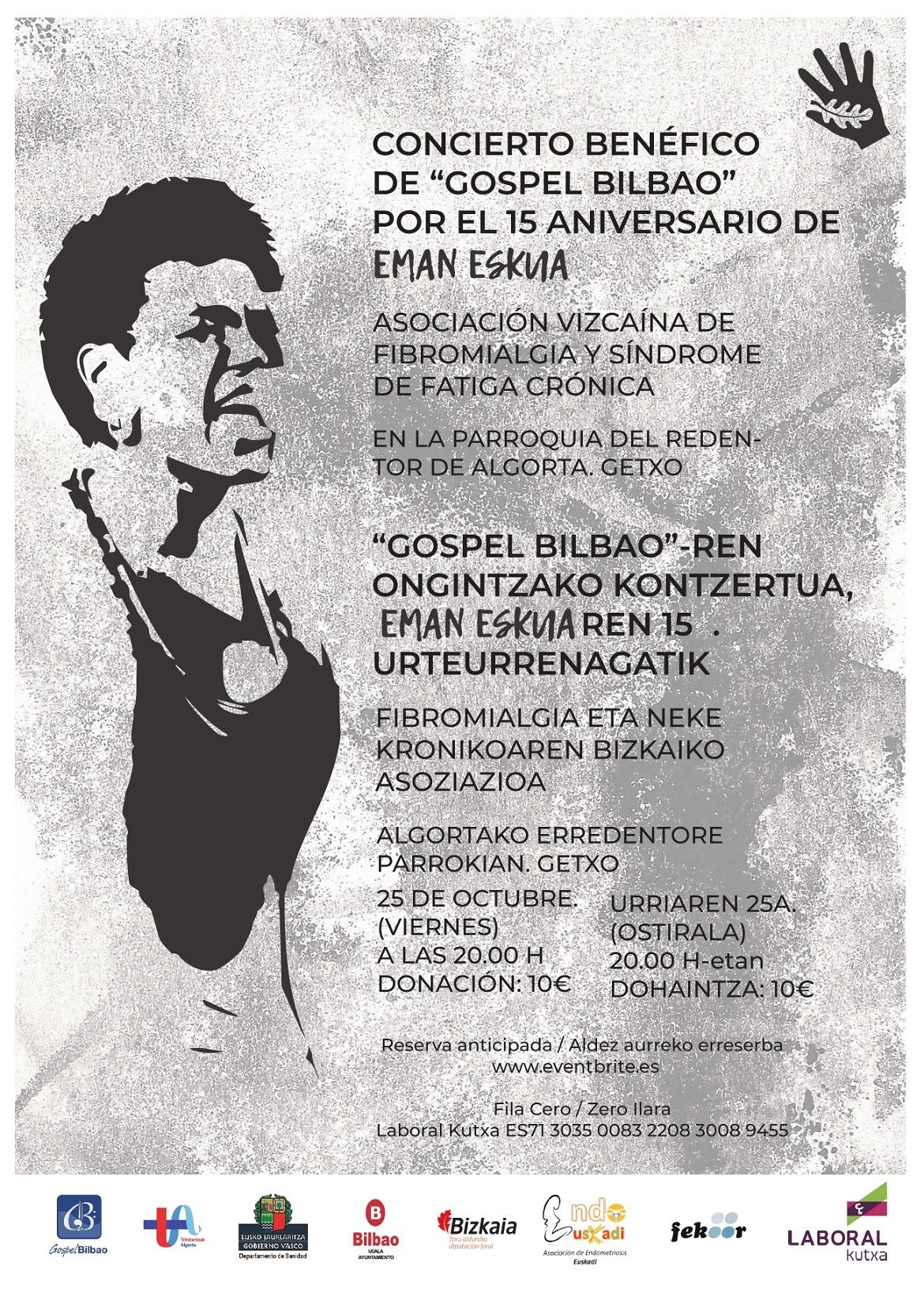 Concierto Benéfico de Gospel Bilbao
