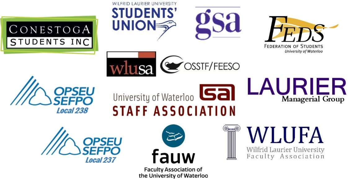 Logos of Debate Hosts