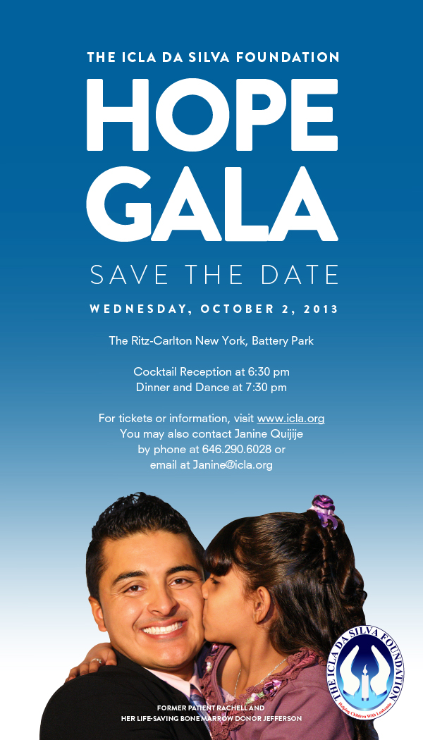 2013 Hope Gala - Save the Date