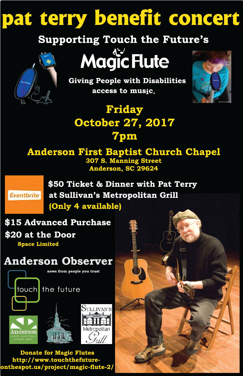 Pat Terry Benefit Concert October 27th
