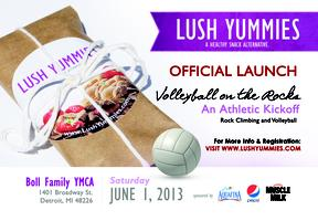 Lush Yummies Official Launch: Volleyball on the Rocks