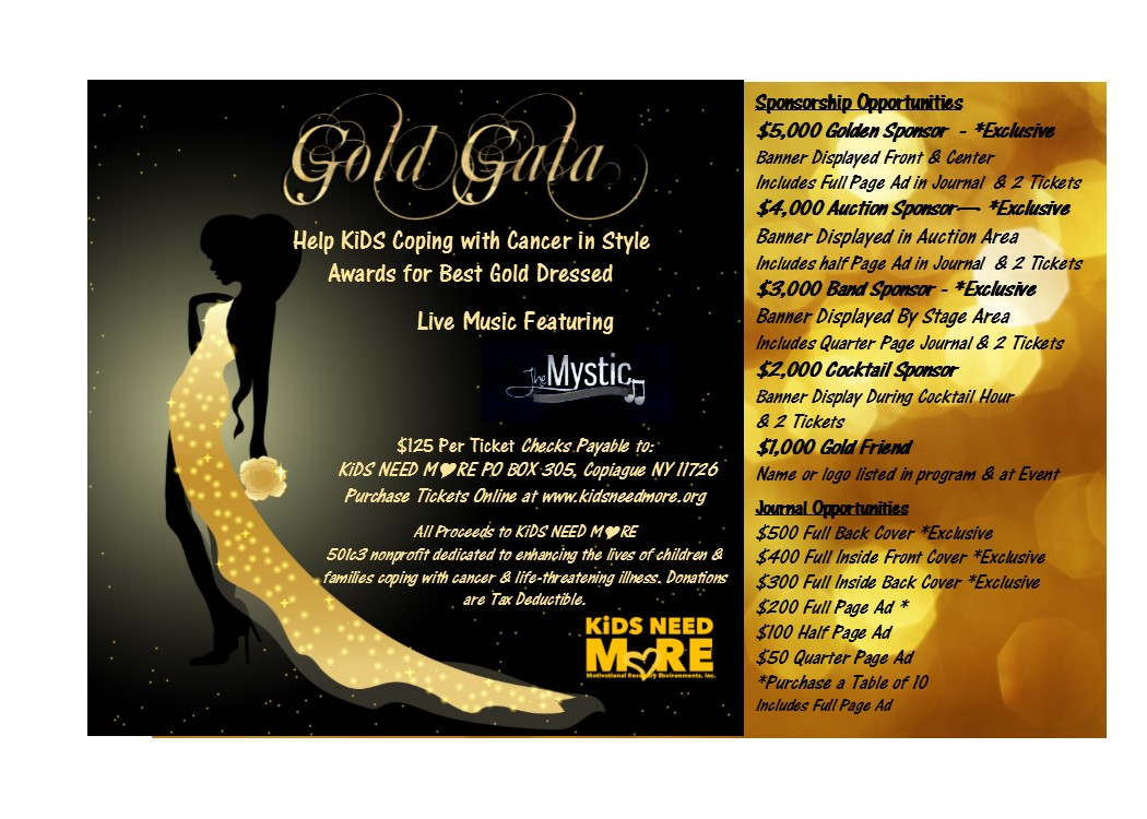 Wear Your Best Gold Dress
