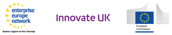 European Commission, Enterprise Europe Network, UK Trade and Investment, Innovate UK