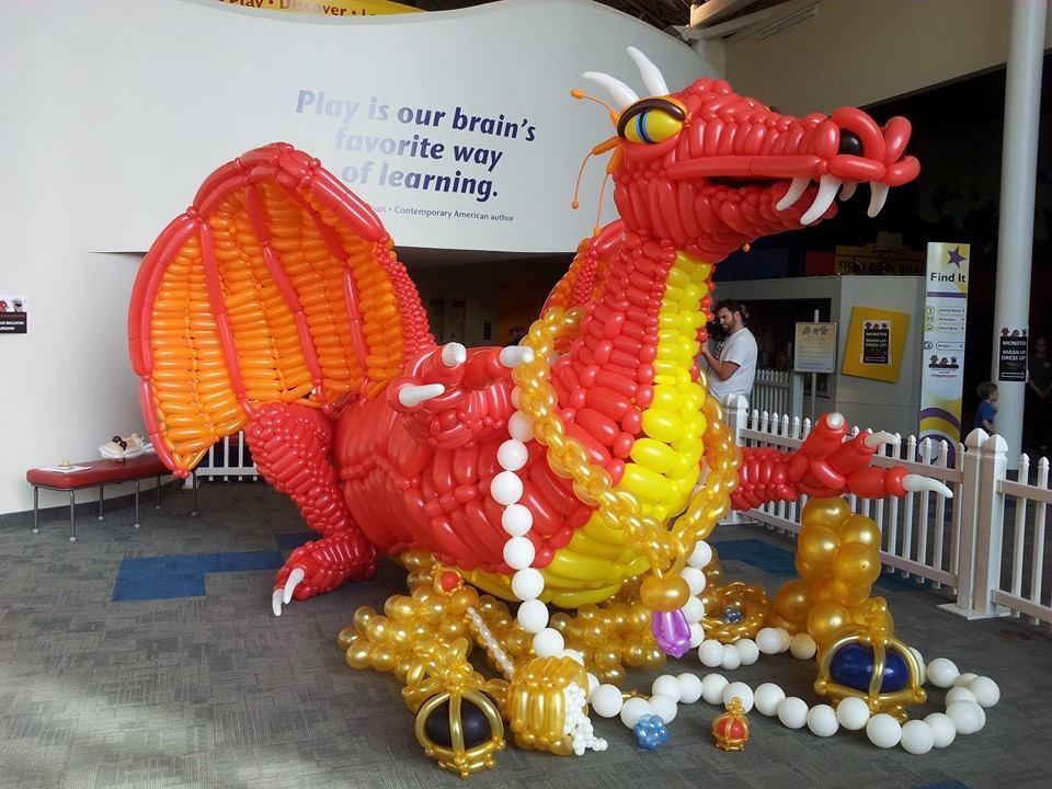 Large Scale Dragon Sculpture