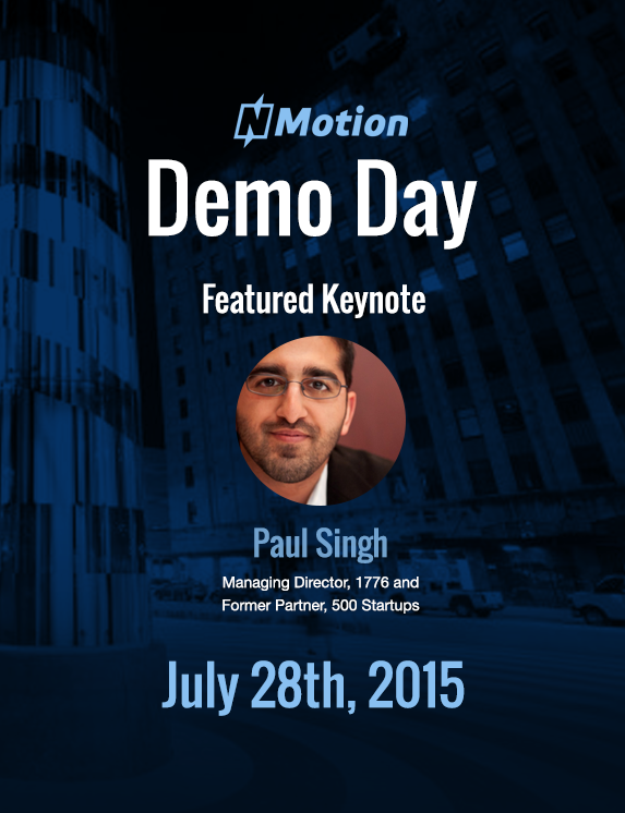 Featured Keynote - Paul Singh - 1776 and 500 Startups