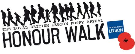 Royal British Legion 5k Honour Walk 2013