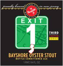 Exit 1 Oyster Stout Logo
