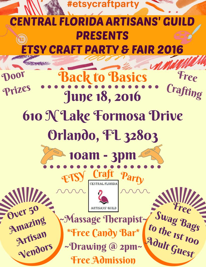 Etsy Craft Fair Orlando