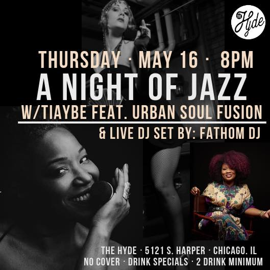 Jazz at The Hyde - Tiaybe