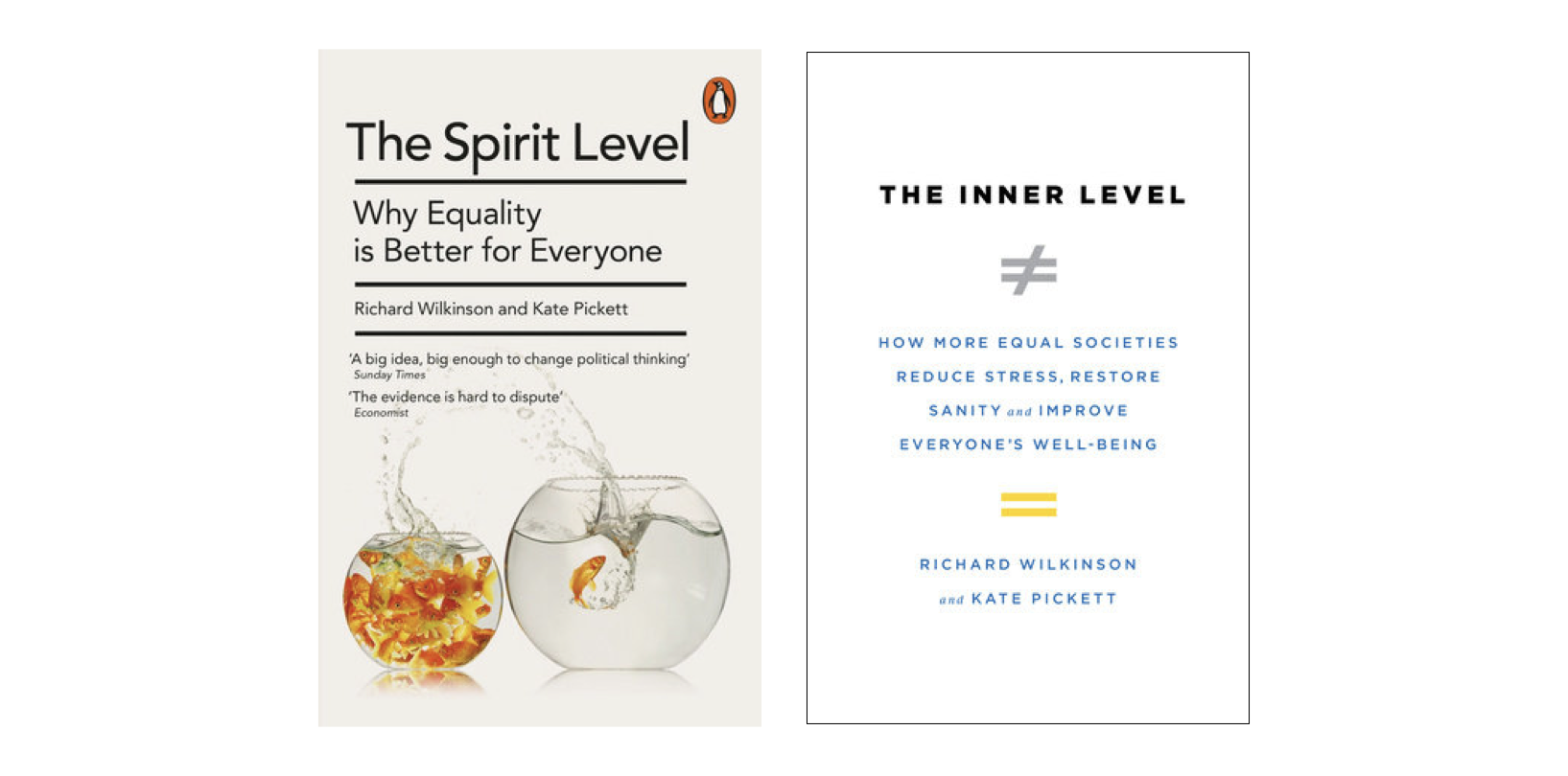 Spirit Level and Inner Level book covers