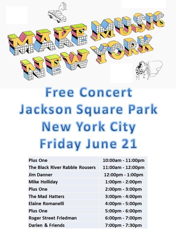 Free Concert - Jackson Square Park