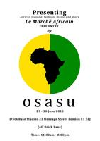 Osasu presents 'Le Marche Africain' weekender at Brick Lane