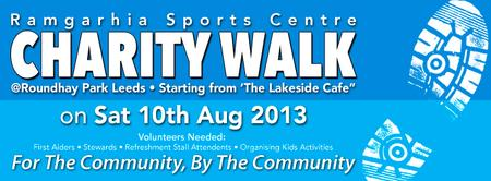 Ramgarhia Sports Centre Charity Walk @Roundhay Park