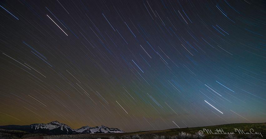 Star Trails ©Matt MaCoy