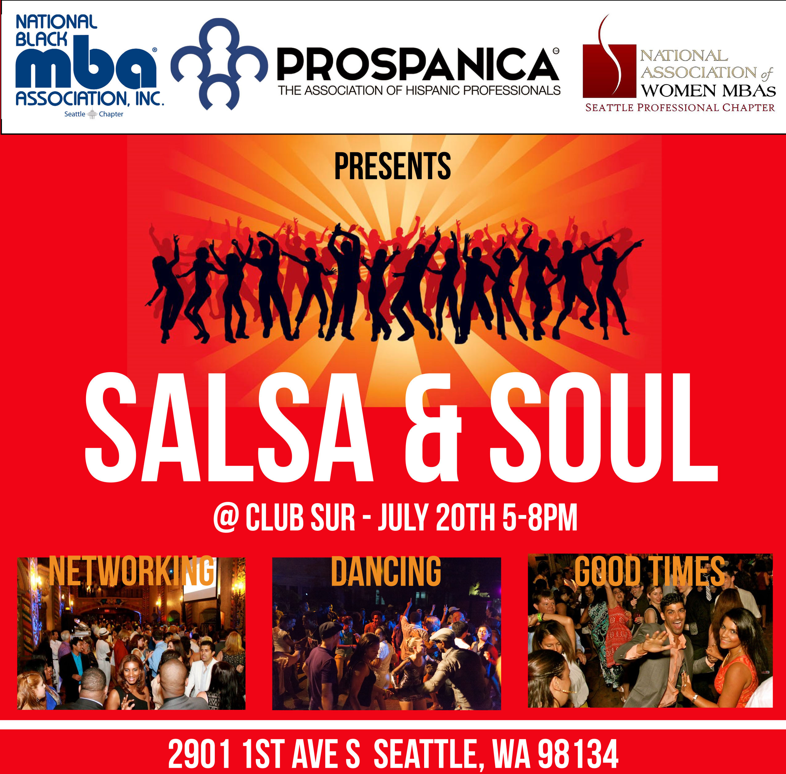 Salsa & Soul Flyer