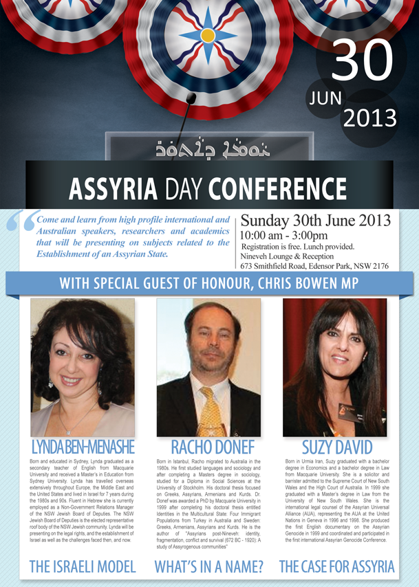 Assyria Day 2013 Poster