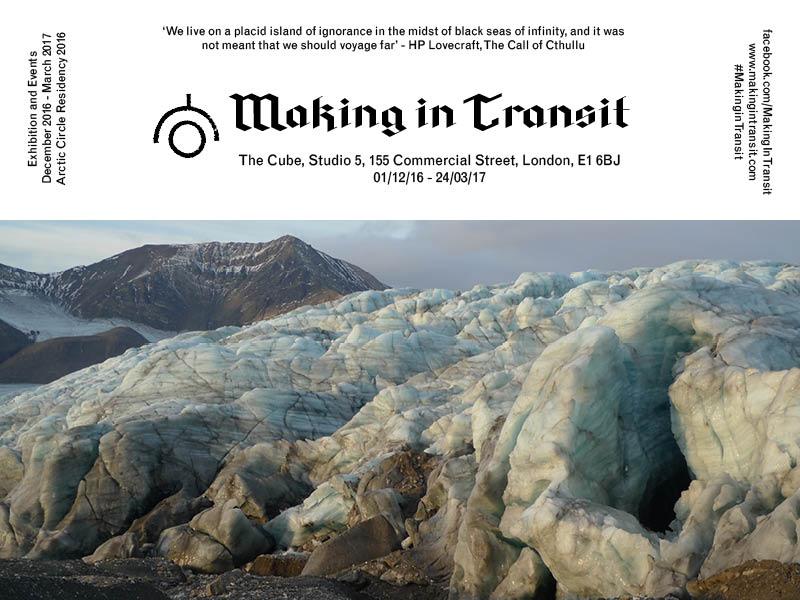 Making in Transit Exhibition