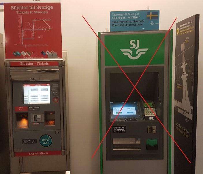 picture ticket machines train